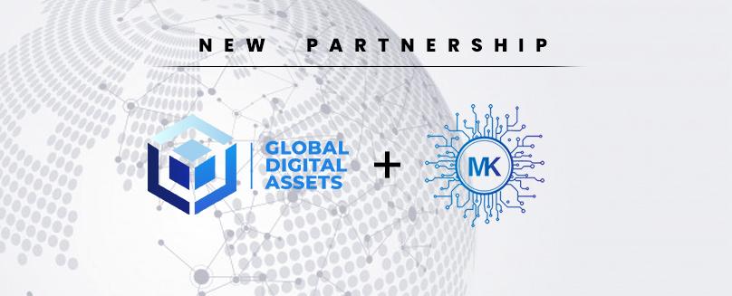 Global Digital Assets and Markchain Partner for Wider Distribution of Digital Assets